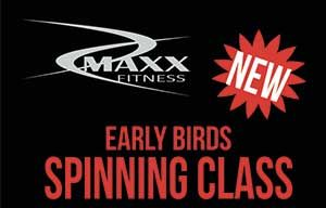 NEW! Earlybird Spinning